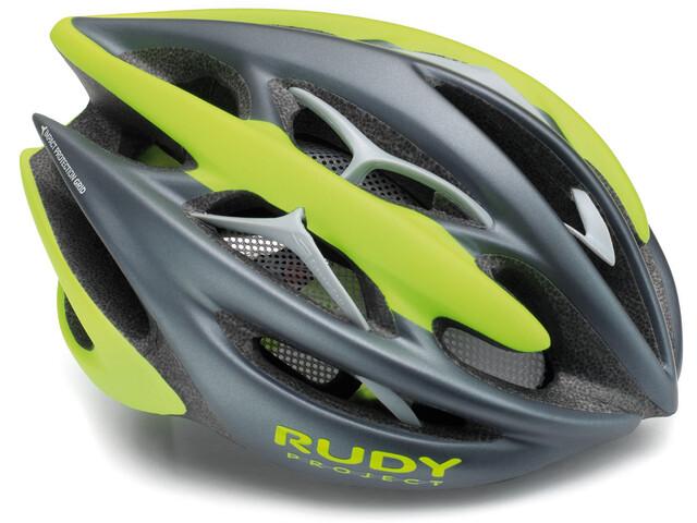 Rudy Project Sterling + - Casque de vélo - vert/Bleu pétrole